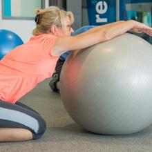 Outil reeducation osteopathie kine ballon