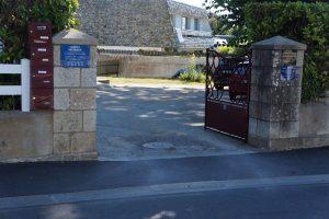 Entree plaque cabinet kine osteo Guezo Larmor