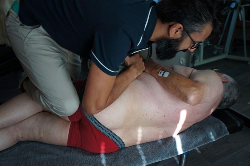 Manipulation bassin ostepathie