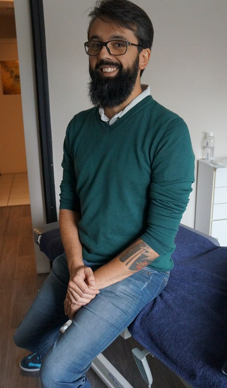 Olivier Gouronc Cabinet osteopathie Larmor Lorient